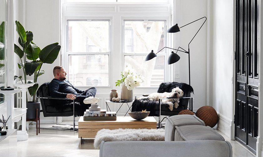 Serge Mouille Three Arm Floor Lamp Fl25 3 Arm Floor Lamp Floor Lamp Mcm Living Room