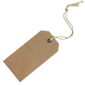 cardboard gift tags   Template