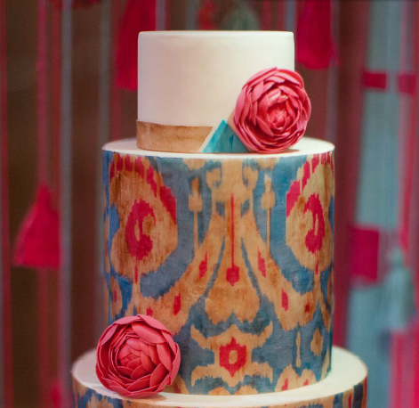 pattern on cake | utterly engaged mag