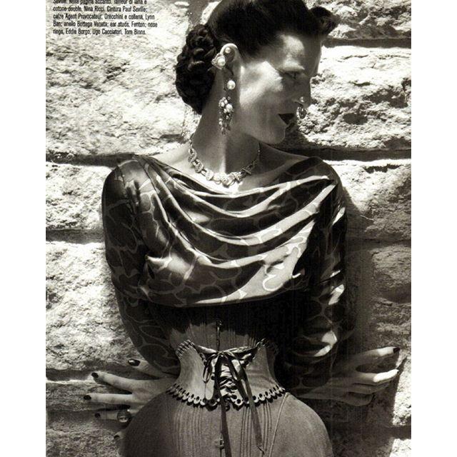 #VogueItalia September 2011 #TheDisciplineofFashion Photographer #StevenMeisel