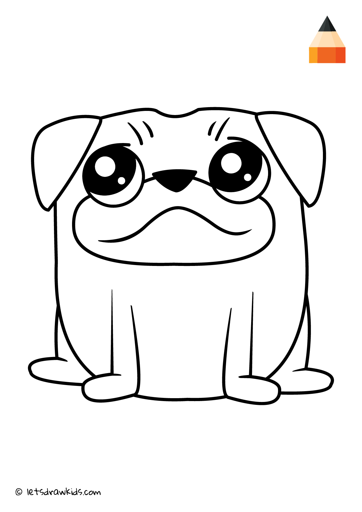 Coloring Page Pug Unicorn Coloring Pages Art Videos For Kids Coloring Pages For Kids