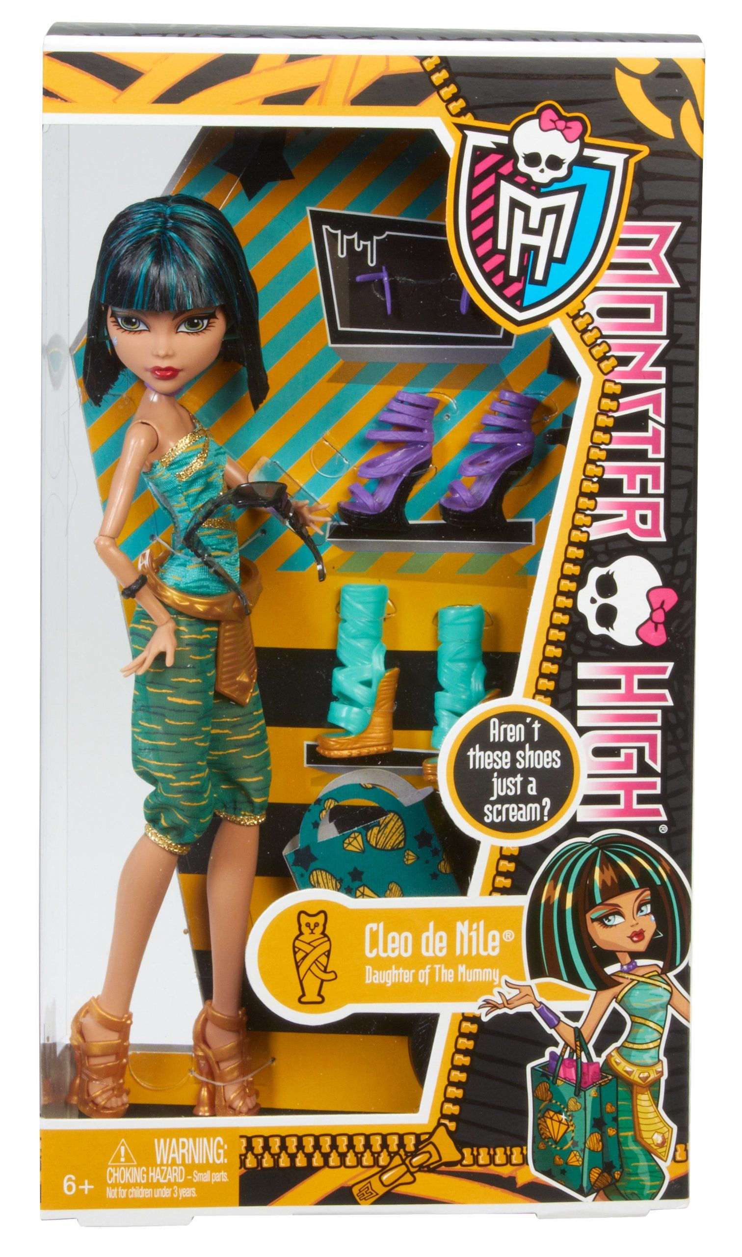 CLEO DE NILE -  i Love Shoes Cleo de Nile:  Monster High - Amazon.co.uk: Toys & Games Item model numberBBR92 Date First Available28 Aug 2013