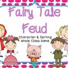 Based on the game show Family Feud, Fairy Tale Feud is a whole class game for characters and setting.  Students play in small groups.  The packet c...
