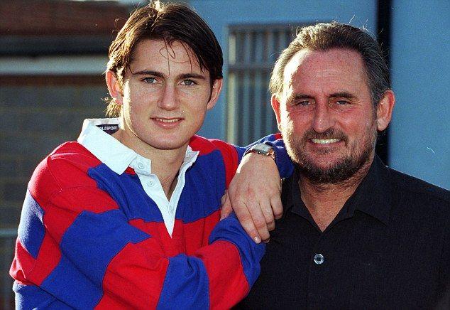 Frank sr. e Frank jr. Lampard