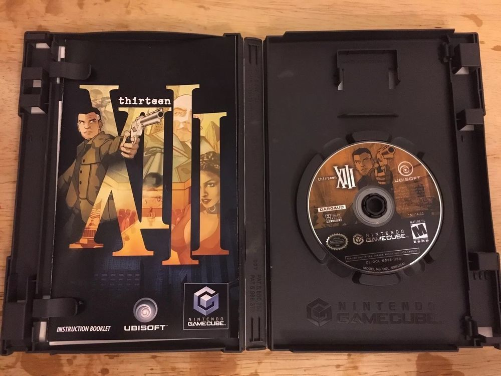 Xiii Nintendo Gamecube Complete With Manual Cib Thirteen 13 Good Condition Nintendoswitch Nintendo Switch Gamecube Nintendo Ebay