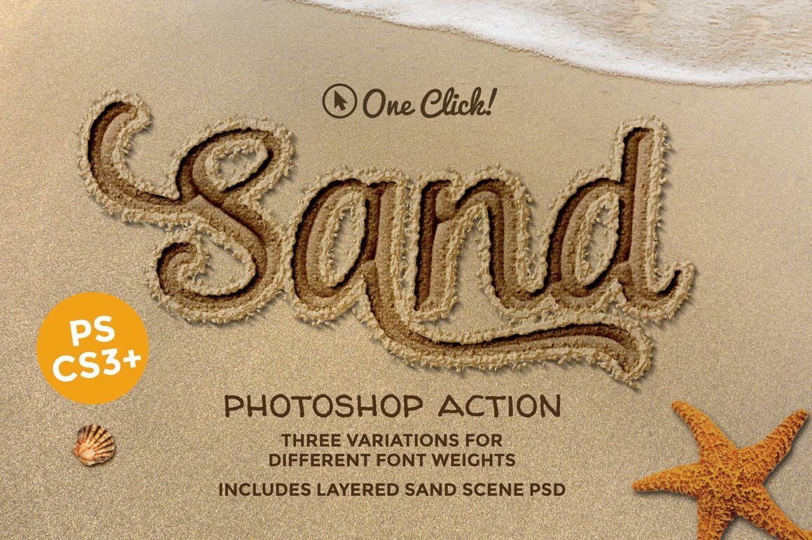 Write in Sand Summer Beach Tutorial