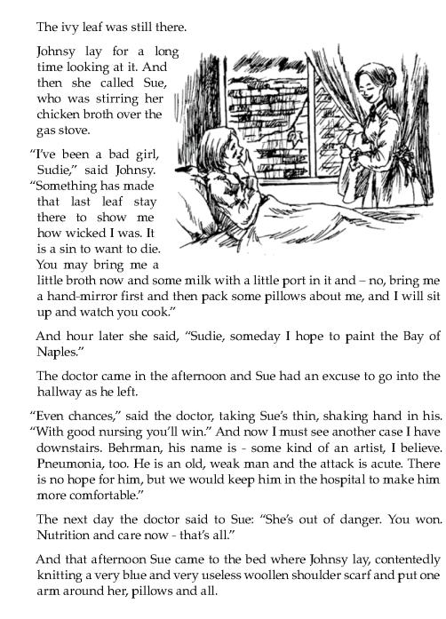 literature grade 7 short stories the last leaf 7 short story short stories the last leaf. Black Bedroom Furniture Sets. Home Design Ideas
