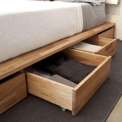 pingl par natacha mercure sur maison pinterest lit rangement sous lit et lit rangement. Black Bedroom Furniture Sets. Home Design Ideas