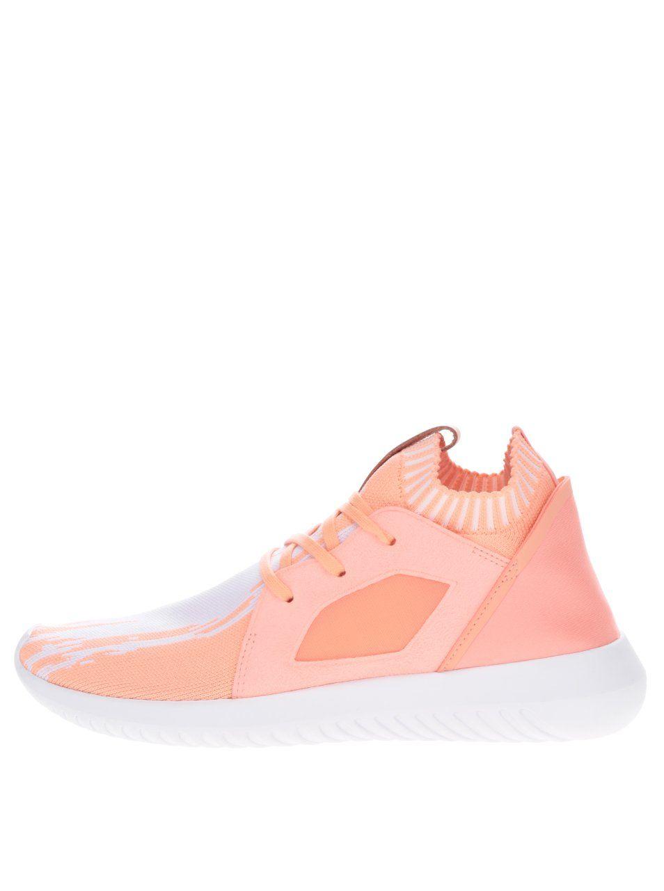 58969f726ff2 Oranžové dámské tenisky adidas Originals Tubular Defiantpk 3499 Kč ...