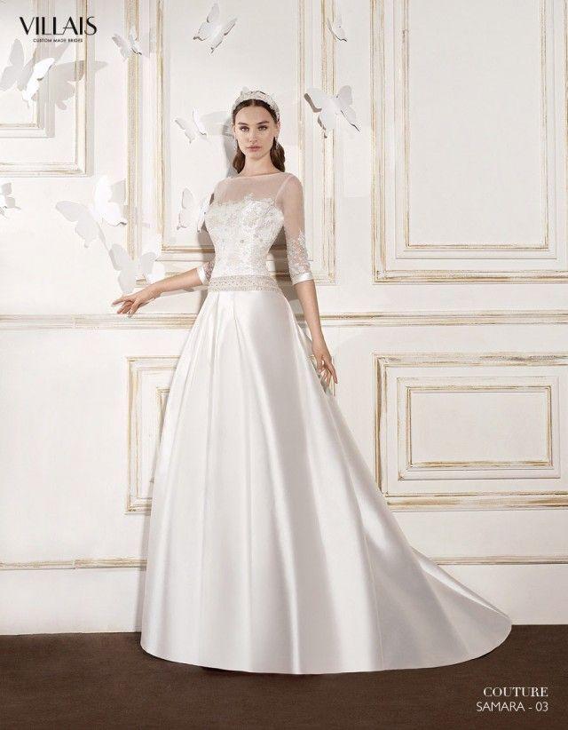 imagenes de Vestidos de Novia Sencillos y Elegantes | hermoso ...