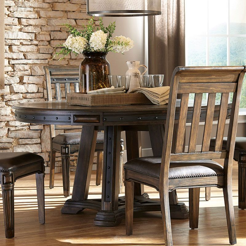Carlsbad round dining table round dining table sets