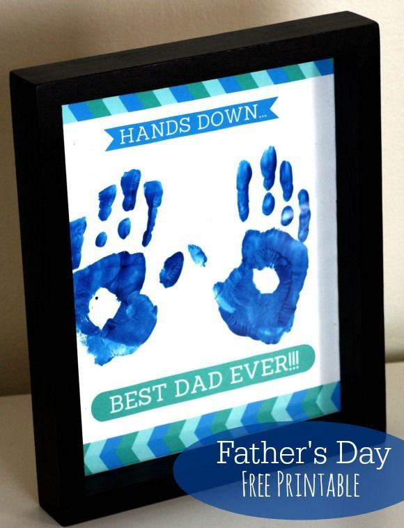 10 Creative Father's Day Gifts Kids Can Make | Free printable ...