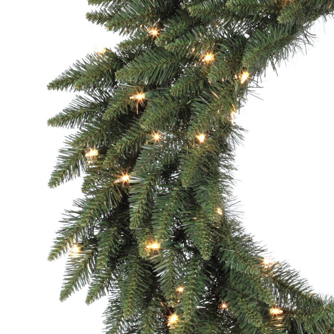Vickerman 24inch Prelit Camdon Fir Wreath With 130 Tips And 50 Clear Dural Artificial Christmas Wreaths Christmas Wreaths With Lights Pre Lit Christmas Wreaths