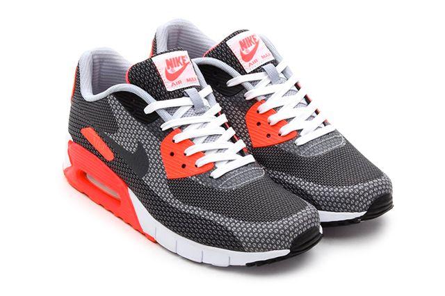 Nike Air Max 90 Jacquard (Infrared) - Sneaker Freaker