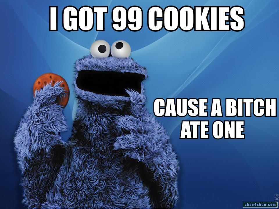 Cookie Monster This One Is For Ciarra Hahahahah Monster Cookies English Teacher Humor Bones Funny