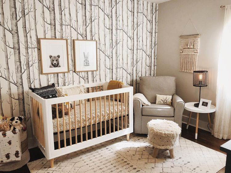 Rustic Woodland Themed Nurseries