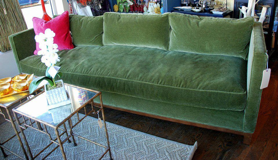 Green Mohair Furniture