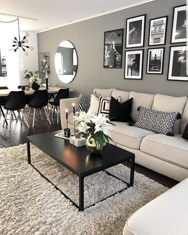 "Interior Design & Home Decor on Instagram: ""Credit 📷 @interior_by_maria⠀ ▫️⠀⠀ ▫️⠀⠀ ▫️⠀⠀ ▫️⠀⠀ ▫️⠀⠀ #livingroomideas #zgalleriemoment #homegoodsfinds #homedecor #homedecorblogger…"""