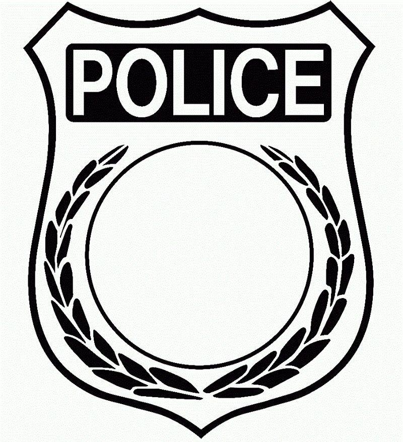 Police Badge Template Badge Template Police Badge Police Officer Badge