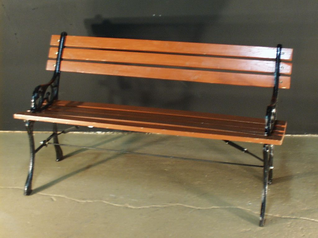 Park Bench Wrought Iron And Wood 2181 Wrought Iron Bench Iron Bench Rustic Buffet Tables