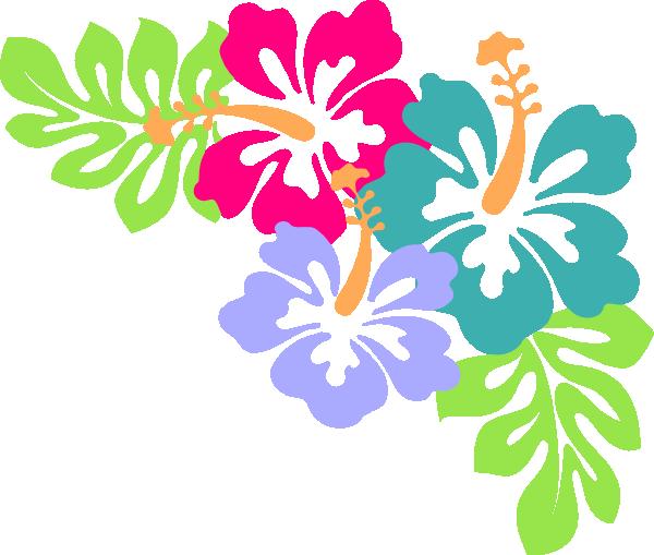 Hibiscus Corner Hi Png 600 509 Hibiscus Clip Art Free Clip Art Clip Art Borders