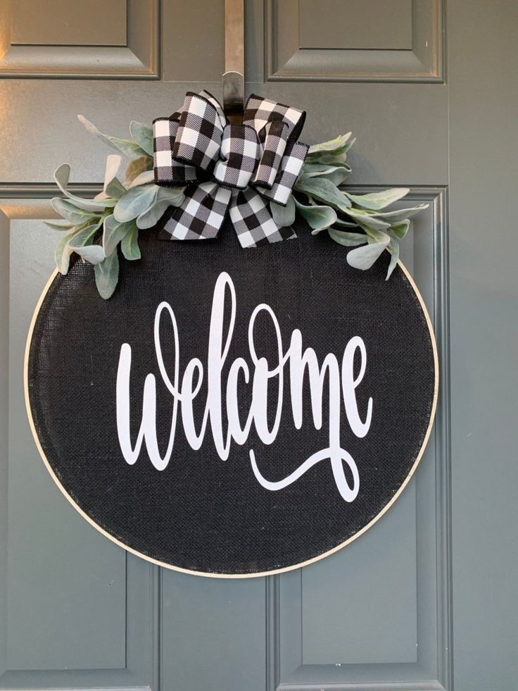 Photo of Wreaths for front door, Spring Wreaths for Front Door, Spring Wreath for Front Door, Door Hanger, Wreath for Front Door, Spring Wreath