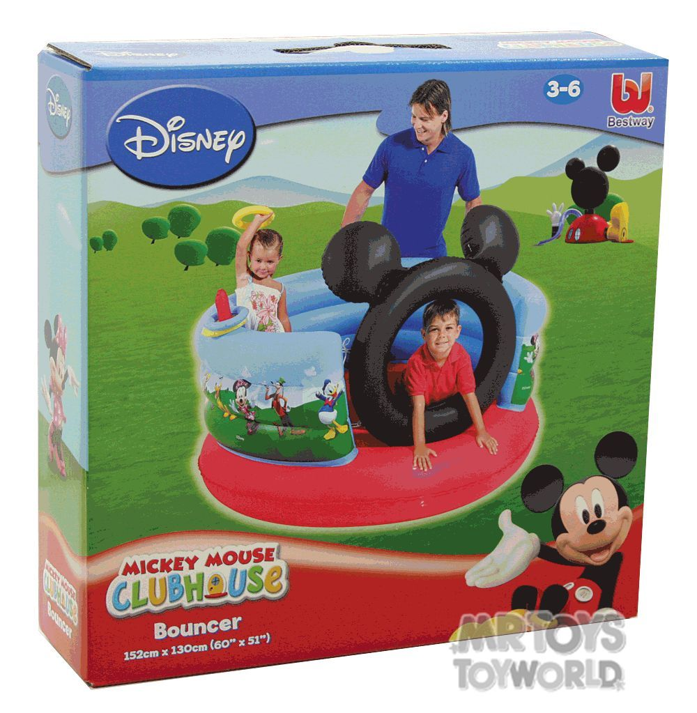Disney Mickey Mouse Clubhouse Bouncer | Mr Toys Toyworld ...