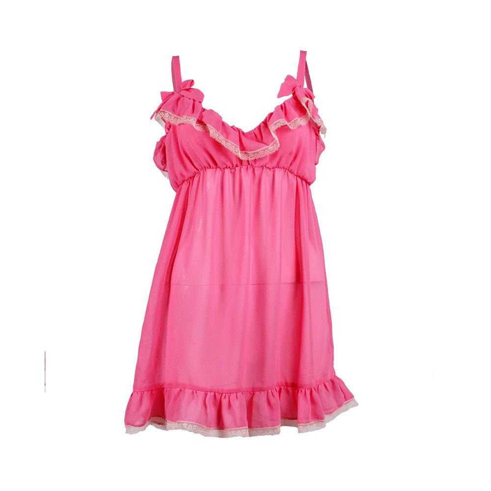 Camisa de Dormir Gasa, María Solita, $30.000.