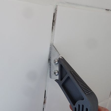 how to fix shower wall