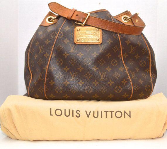 guaranteed authentic louis vuitton galliera pm handbag bag pinterest handtaschen taschen. Black Bedroom Furniture Sets. Home Design Ideas