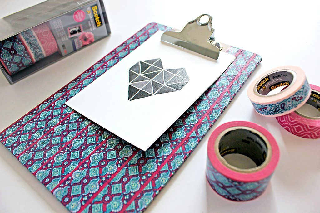 Have Fun Creating a Gallery Wall with Washi Tape! | Washi ...