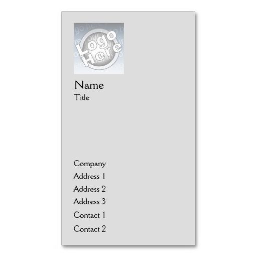 Grey plain vertical business business card template make your own grey plain vertical business business card template make your own business card with this reheart Gallery