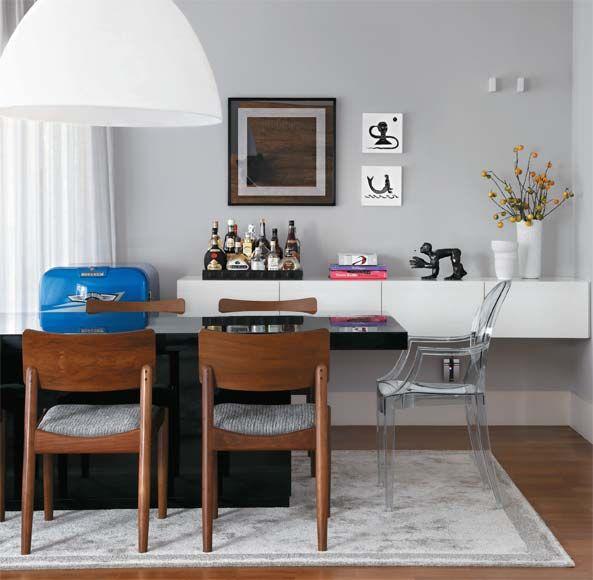 Sala de jantar: sete projetos e vários estilos - Casa