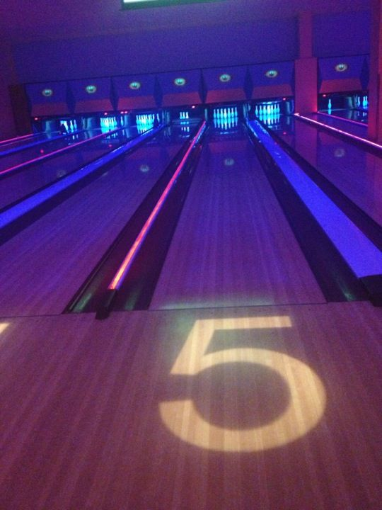 Bowling Three Primary Colors Entertaining Great Places