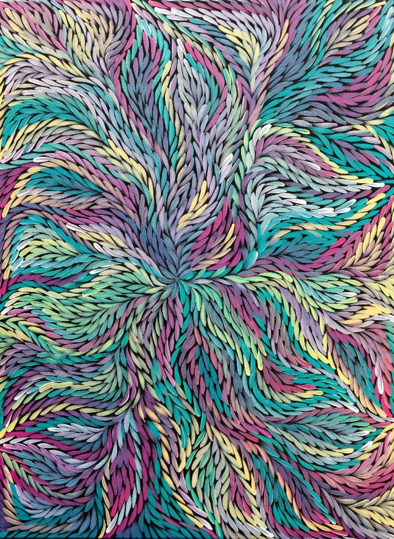 Bush Medicine Leaves Jeannie Petyarre 2016 By Jeannie Petyarre