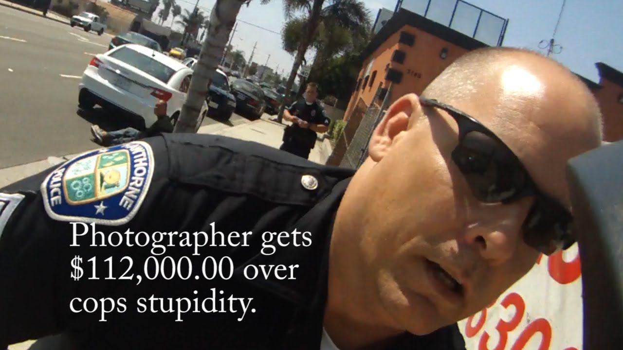 Photographer Awarded $112,000.00 Hawthorne Police