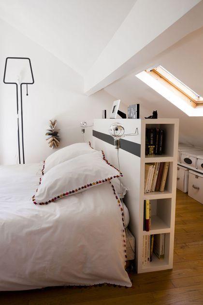 Tables de chevet - 30 idées déco Bedrooms, Attic and Decoration