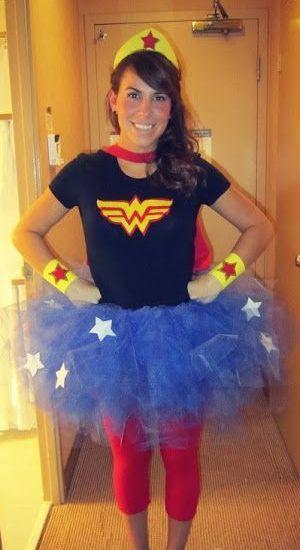 Diy Wonder Women Costume - Dirty Girl Mud Run- Saving -6428