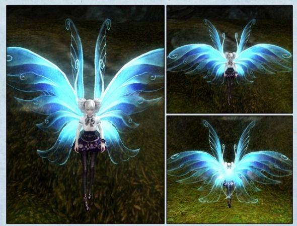 게임이 정말 좋은 여자 :: 아이온 외형 변경용 날개, 화려한 나비 날개깃!