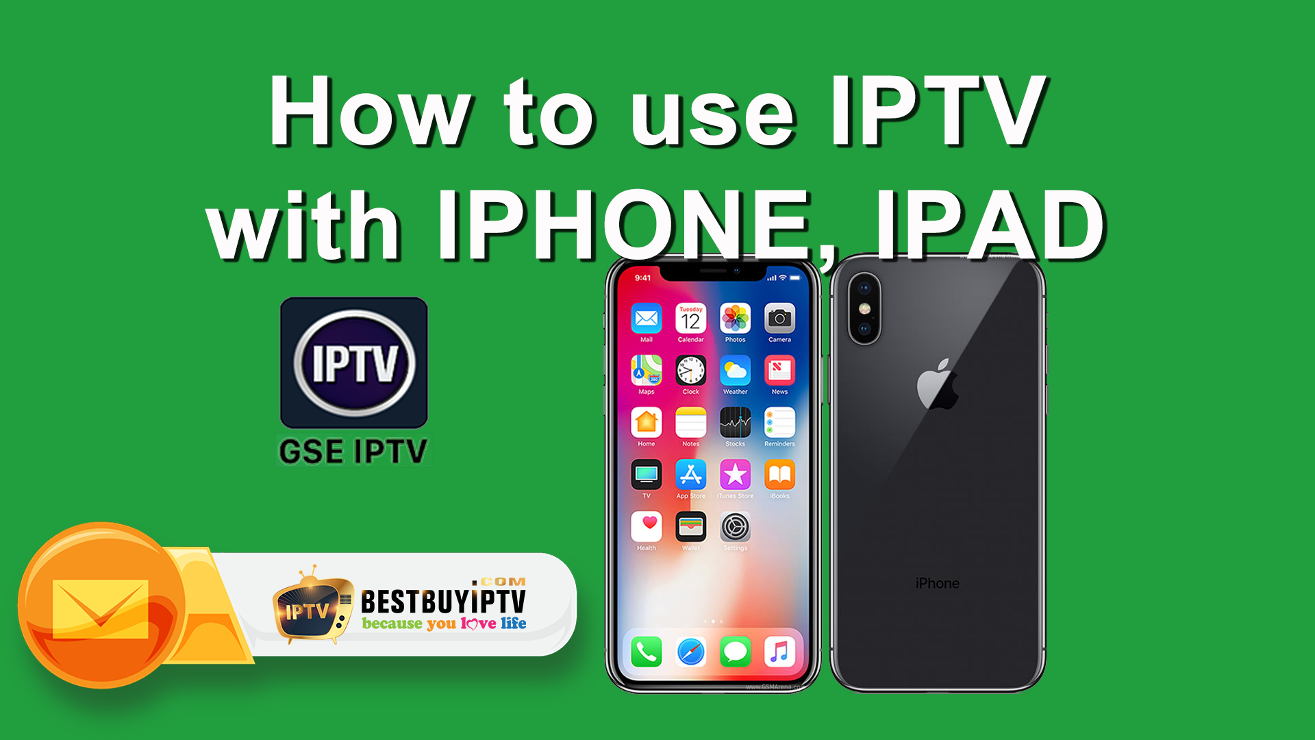 Setup IPTV on iOS Using GSE app (iPhone, iPad, Apple TV