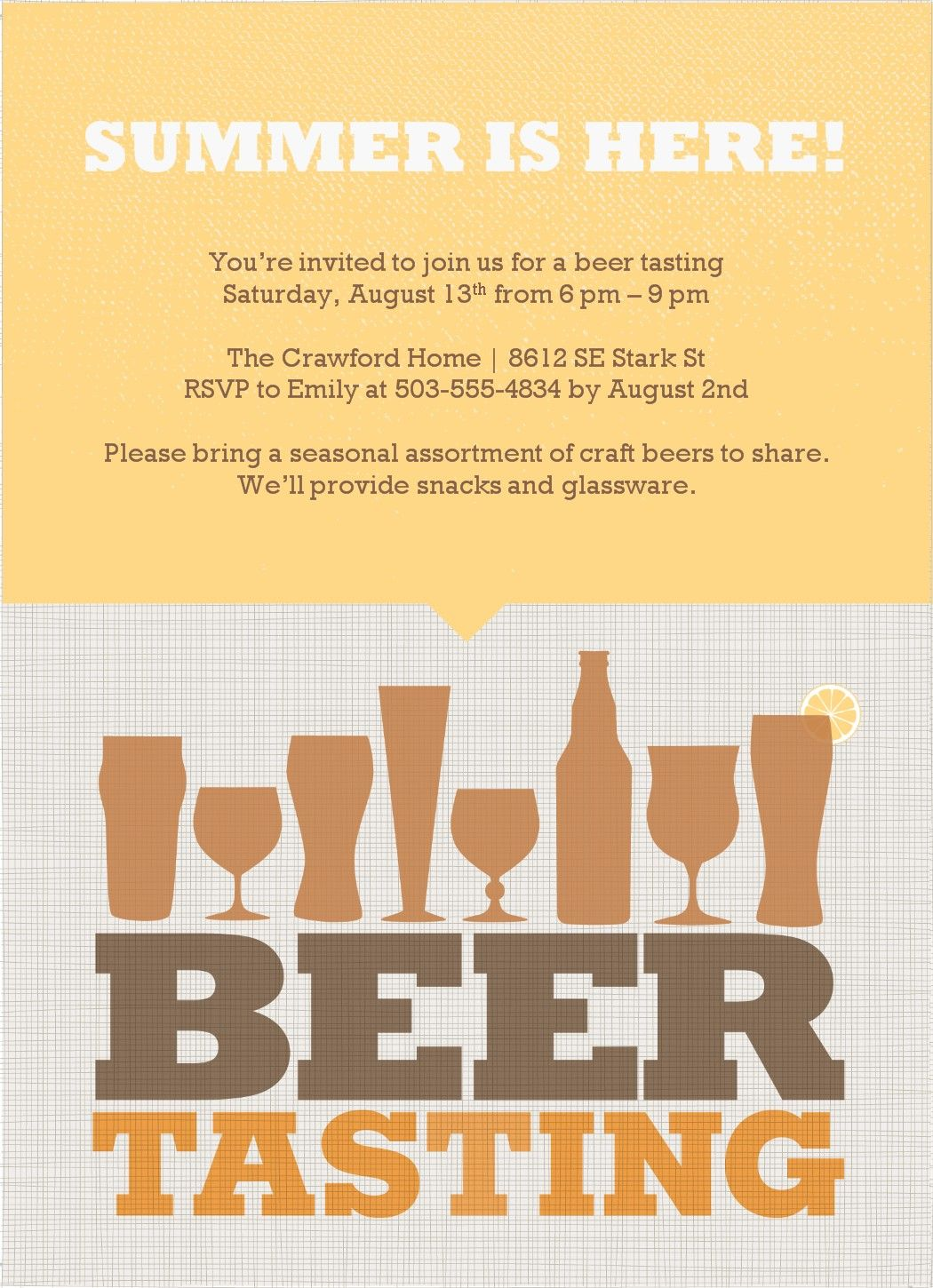 beer party invite | Celebration! | Pinterest | Party invitation ...