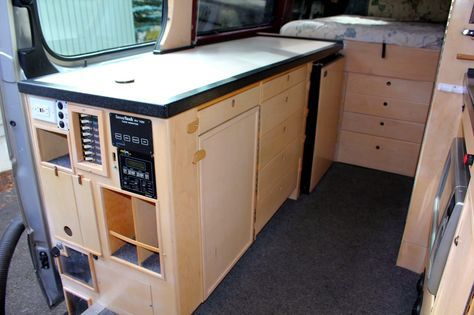 2007 Sprinter Van Camper Conversion This Has Numerous Factory Options And Suspension Upgrades Making It