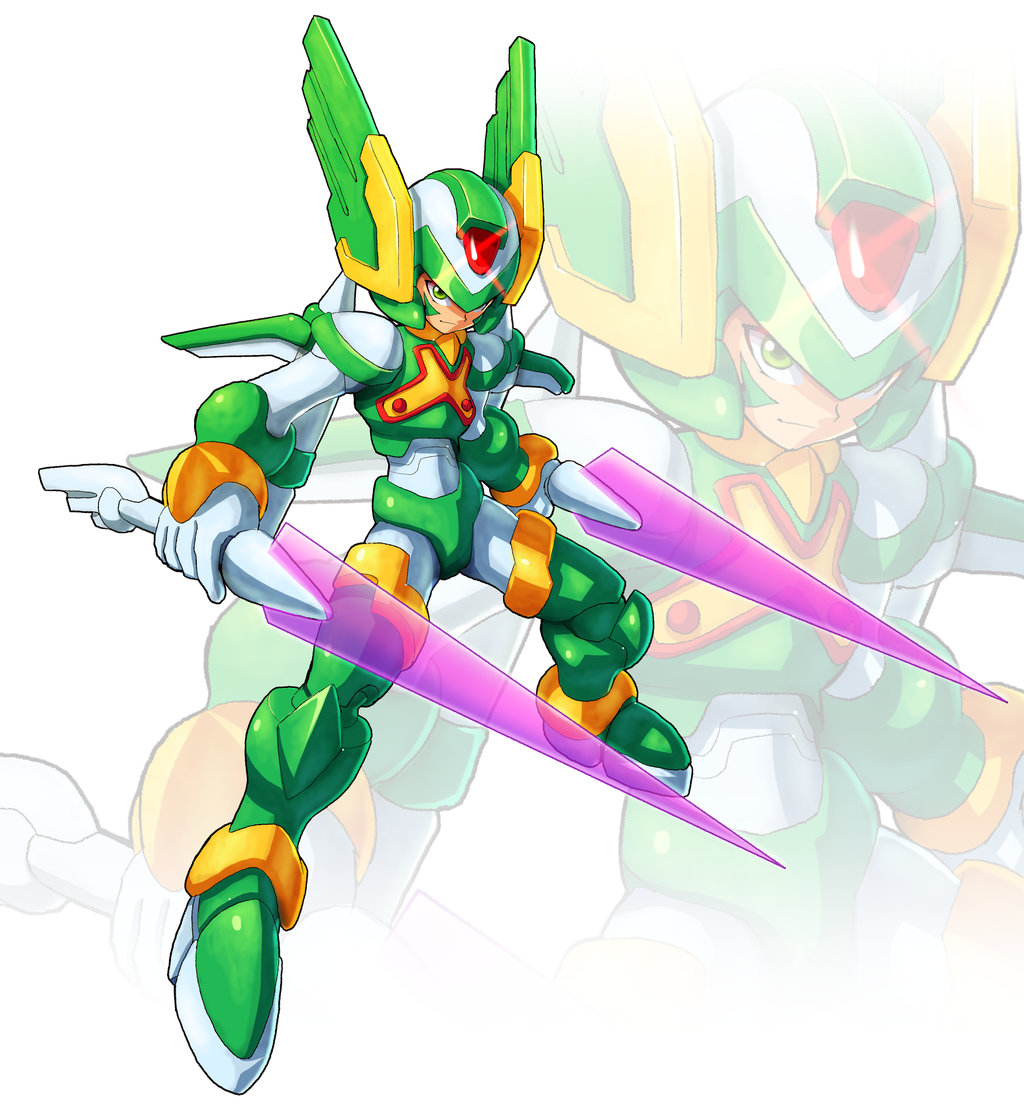 Sage Harpuia Umx Style By Ultimatemaverickx On Deviantart Mega Man Art Mega Man Character Design