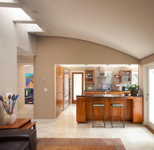 Modern Farmhouse Spring Home Decor Ideas: Dunn-Edwards Paints. The Walls Are DE6129 Rustic Toupe