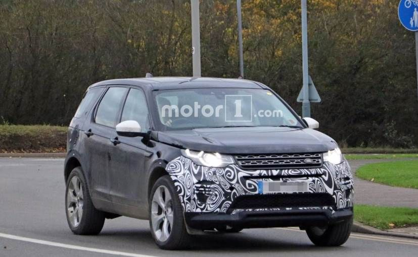 CarSpy NextGen Land Rover Discovery Sport Spotted