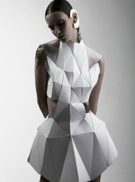 69+ Trendy origami architecture design wearable art - Since electronic devices s... - -