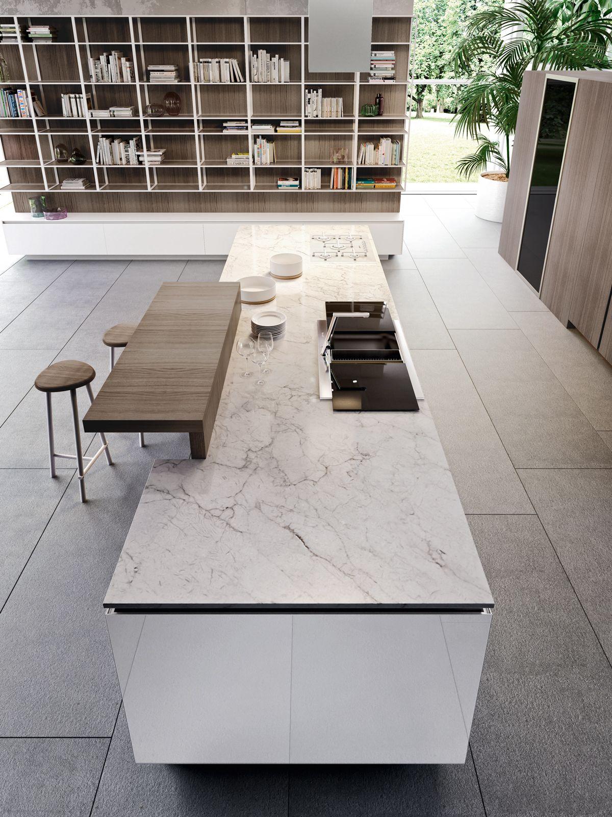 Risultati immagini per marmo bianco carrara cucina | Home - Kitchen ...
