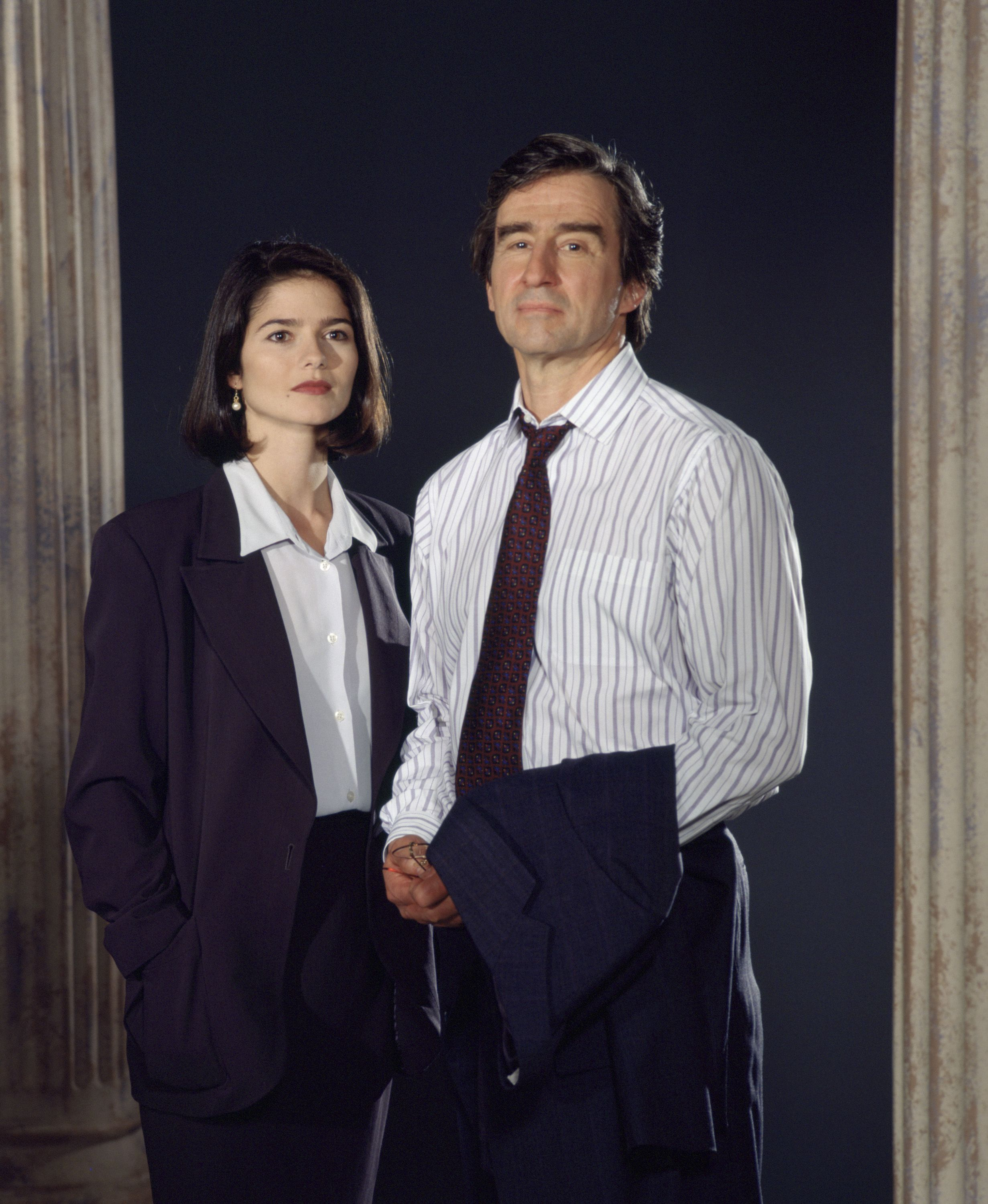 Law Order Promo Jill Hennessy 90s Tv Shows Law And Order