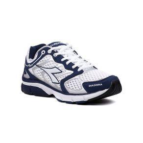 87b61157d65 Tênis Esporte Masculino Diadora New Stratus Branco azul marinho de ...