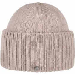 Photo of Lierys Merino hat with a large flap Beanie with flap Knit cap Winter hat LierysLier